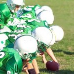 Youth Football Team on the Field --- Image by © Royalty-Free/Corbis